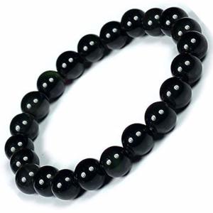 Bracelet d'obsidienne noir - Pierre de protection