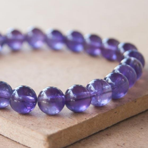 Bracelet d'Améthyste - La pierre spirituelle