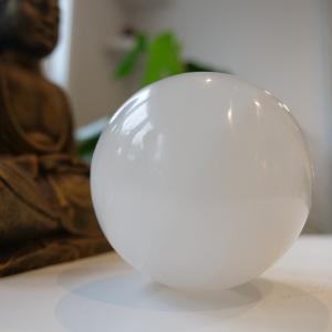Sphère de sélénite - Paix et sérénité